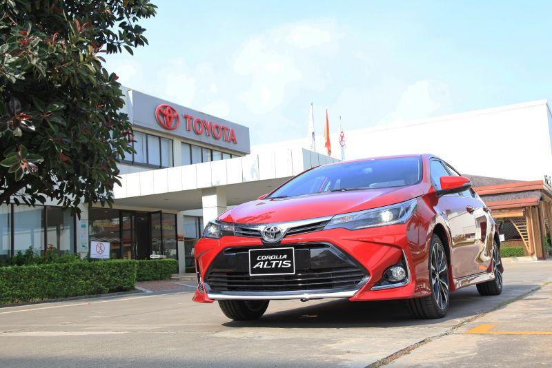 Toyota Corolla Altis mới sở hữu diện mạo năng động và đậm chất thể thao