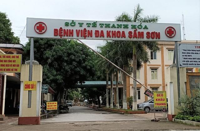 Bệnh viện Đa khoa TP Sầm Sơn cũng đã thực hiện các biện pháp phòng, chống dịch Covid-19 khi bà Đ.T.H. được đưa vào đây cách ly, điều trị