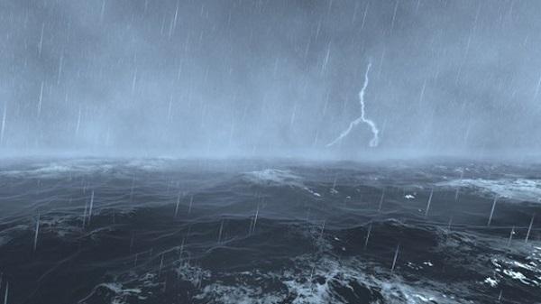 Xuất hiện vùng áp thấp giữa Biển Đông gây mưa to gió lớn (Ảnh minh họa)