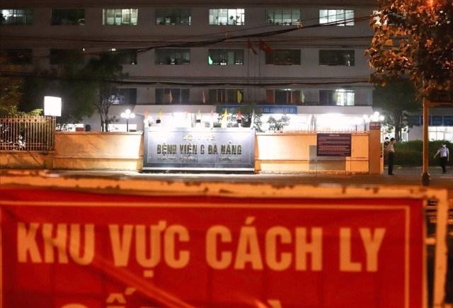 Trước đó, Bệnh viện C Đà Nẵng bị cách ly khi phát hiện ca mắc COVID-19.