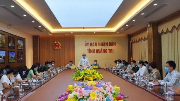 Tỉnh Quảng Trị quyết định thực hiện giãn cách xã hội theo chỉ thị 16 đối với Tp. Đông Hà