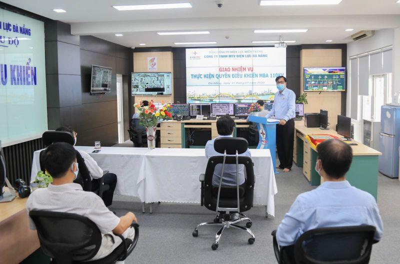Lễ giao nhiệm vụ thực hiện quyền điều khiển các MBA 110kV cho PC Đà Nẵng