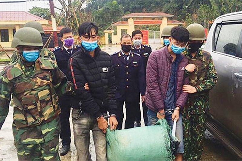 Hải quan Hà Tĩnh phối hợp các lực lượng chức năng bắt giữ vụ buôn lậu ma túy qua biên giới