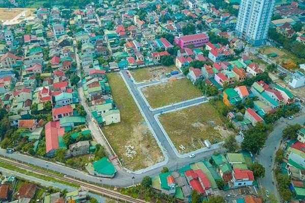 Khu đô thị Lucky Ari nằm ngay vị trí vàng giữa trung tâm thành phố Vinh