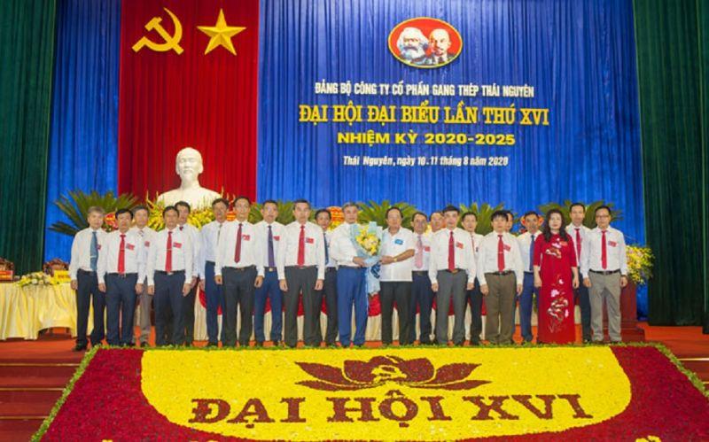 Ban Chấp hành Đảng bộ Công ty khóa XVI ra mắt Đại hội