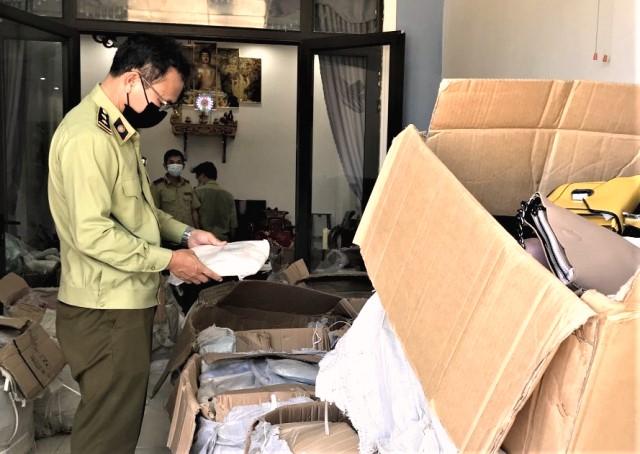 """Đội QLTT 3, Cục QLTT tỉnh Quảng Nam kiểm tra tại địa chỉ kinh doanh có tên tài khoản """"Nguyen Sang"""""""