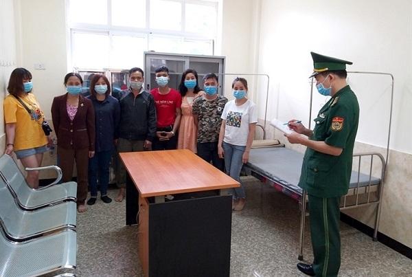 Biên phòng Tân Thanh (Lạng Sơn): Phát hiện 8 người nhập cảnh trái phép từ Trung Quốc vào Việt Nam