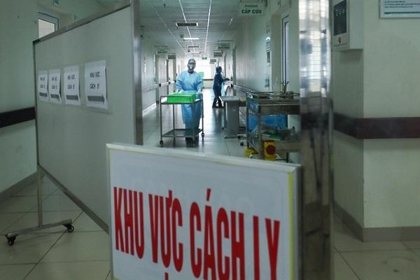Khu vực điều trị bệnh nhân Covid-19
