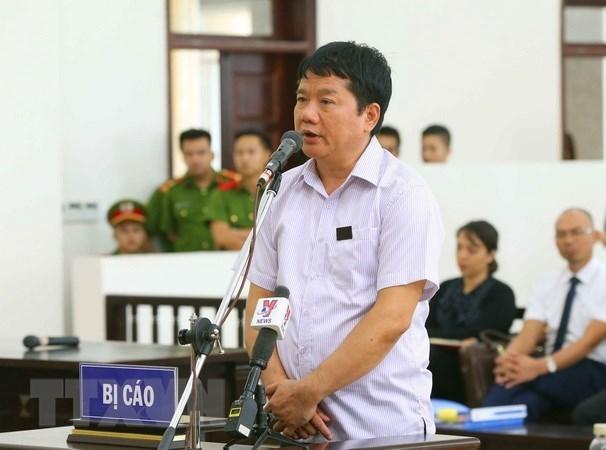 Bị cáo Đinh La Thăng. (Ảnh: Doãn Tấn/TTXVN)