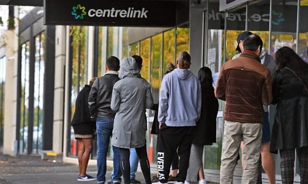 Dịch Covid-19 bùng phát, hơn 1 triệu người Australia thất nghiệp