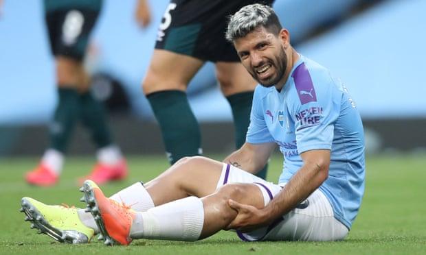 Man City mất Aguero ở trận tứ kết Champions League