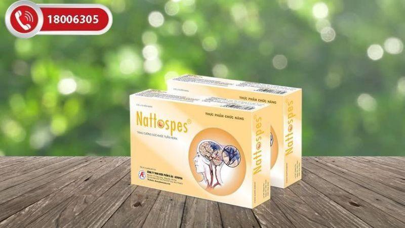 Nattospes giúp phòng ngừa và hỗ trợ điều trị đột quỵ nhồi máu não hiệu quả