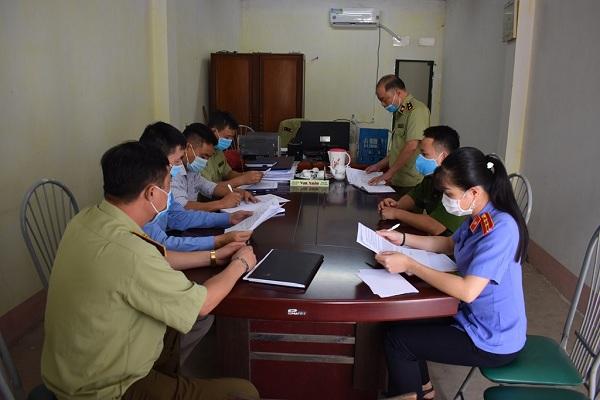 Hội đồng tiêu hủy tài sản Tuyên Quang họp thống nhất phương án.