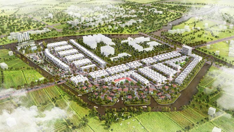 Phối cảnh dự án Khu dân cư Phước Thọ 1