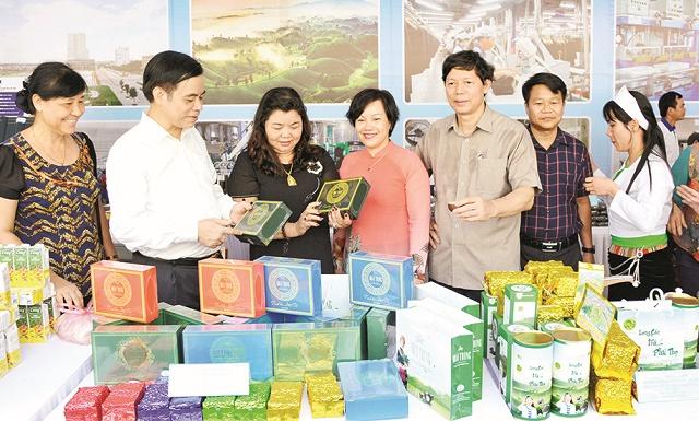 Đẩy mạnh quảng bá thương hiệu, kết nối thị trường cho các sản phẩm nông sản Phú Thọ