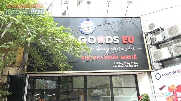 Thu giữ gần 2.000 sản phẩm hóa mỹ phẩm không nhãn phụ tiếng Việt, không hóa đơn chứng từ tại cửa hàng Good Goods EU