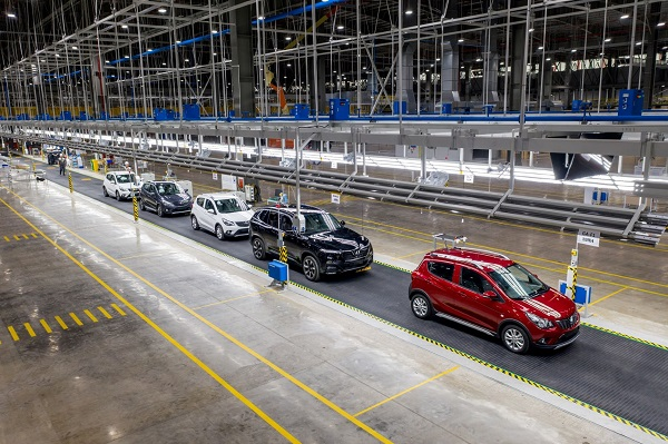 Nhập khẩu ô tô nguyên chiếc tăng 34% (Ảnh minh họa)