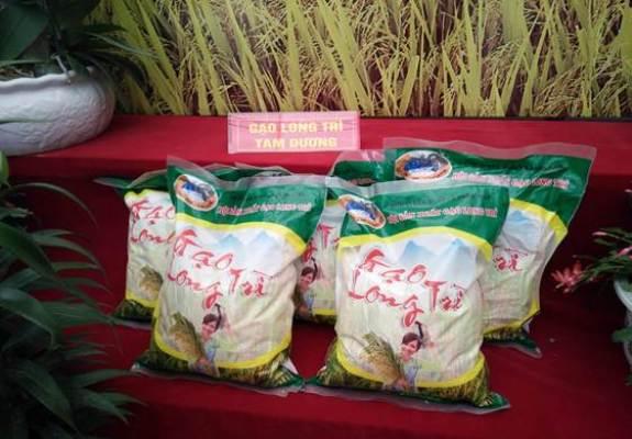 Sản phẩm gạo Long Trì huyện Tam Dương