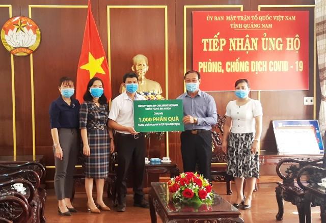 ... trao tặng người dân tỉnh Quảng Nam