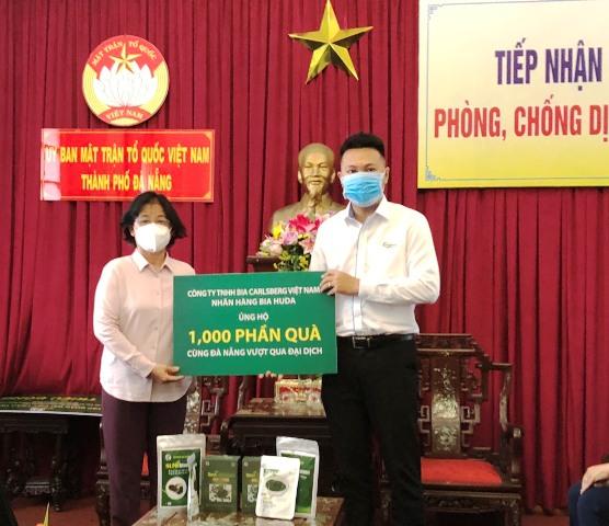 HUDA trao tặng người dân Đà Nẵng 1.000 phần quà