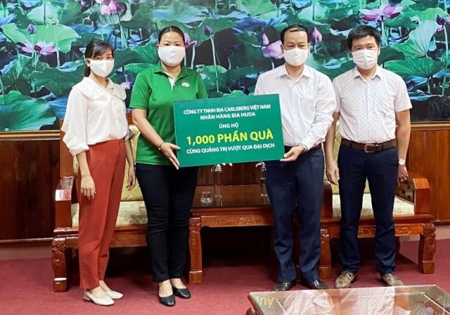 Huda trao tặng người dân tỉnh Quảng Trị 1.000 phần quà