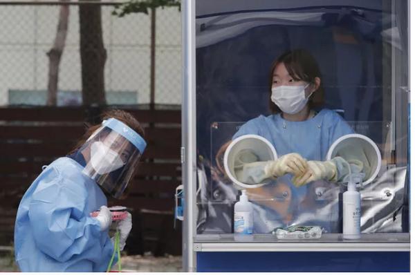 Tình hình dịch bệnh có chiều hướng xấu đi ở Hàn Quốc (Ảnh: AP)