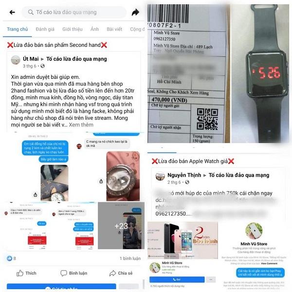 Những vụ lừa đảo, buôn bán hàng giả thường xuyên xảy ra trên nền tảng Facebook