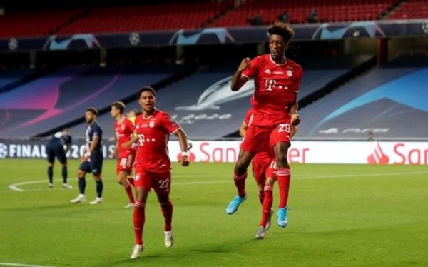 Coman ghi bàn duy nhất giúp Bayern vô địch
