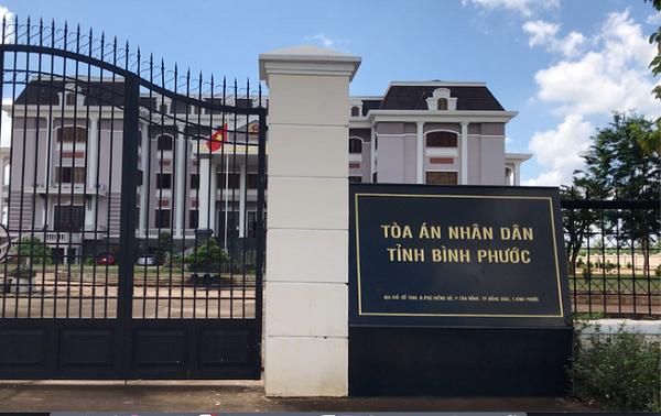 Trụ sở TAND tỉnh Bình Phước
