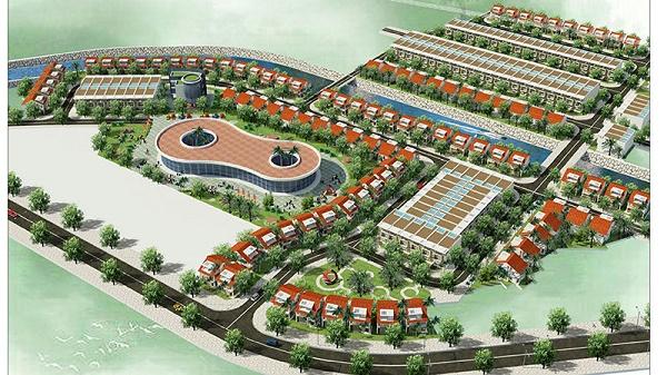 Phối cảnh tổng thể dự án Mỏ Bạch Central Hill - TP. Thái Nguyên