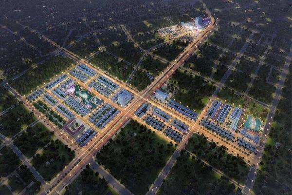 Phối cảnh một phần dự án TNR Stars Thái Hòa