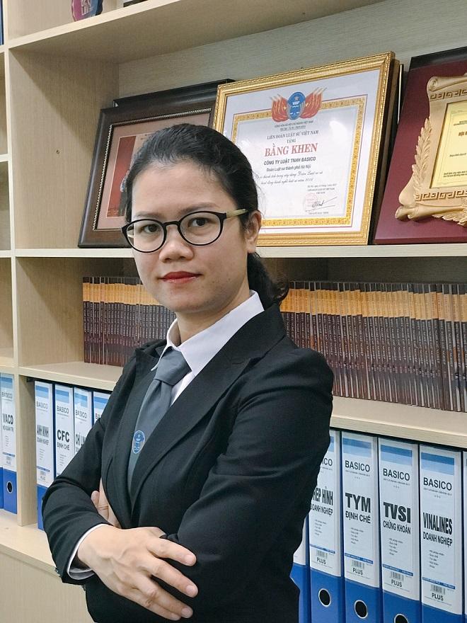 1. Luật sư Nguyễn Thị Kim Xuân, Đoàn Luật sư Hà Nội