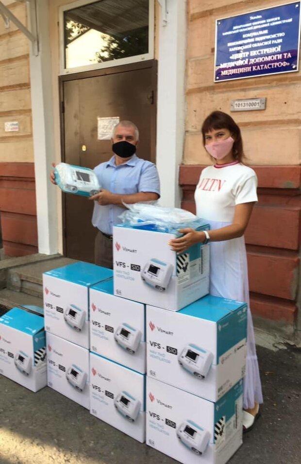 Trung tâm Chăm sóc khẩn cấp & Y học thảm hoạ đã nhận hàng loạt máy thở Vsmart VFS-510 với tiêu chuẩn chất lượng quốc tế, đảm bảo yêu cầu chăm sóc và điều trị tại Kharkov (Ukraina)
