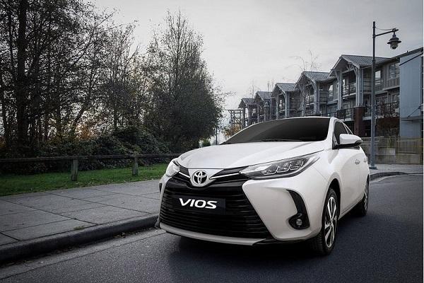 Toyota đã nâng cấp diện mạo cho Vios 2021