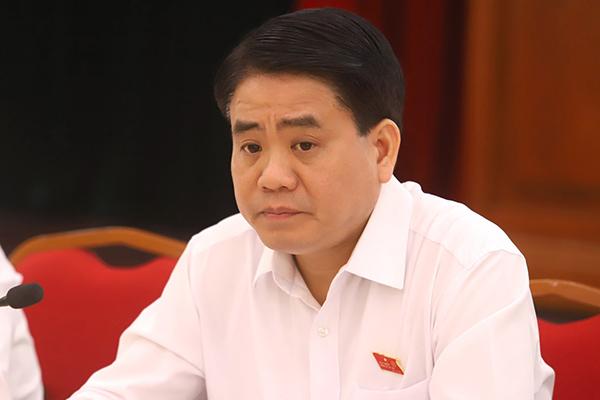 Ông Nguyễn Đức Chung. Ảnh: Trần Thường