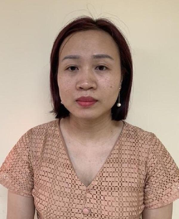 Bị can Hoàng Kim Thư