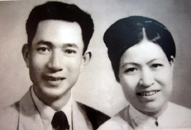 Vợ chồng cụ Trịnh Văn Bô, Hoàng Thị Minh Hồ (Ảnh tư liệu)