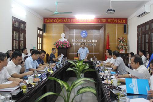 Bí thư Tỉnh ủy Thái Bình Ngô Đông Hải làm việc với BHXH tỉnh Thái Bình