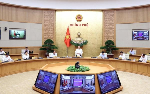 Thủ tướng Nguyễn Xuân Phúc chủ trì chính phiên họp