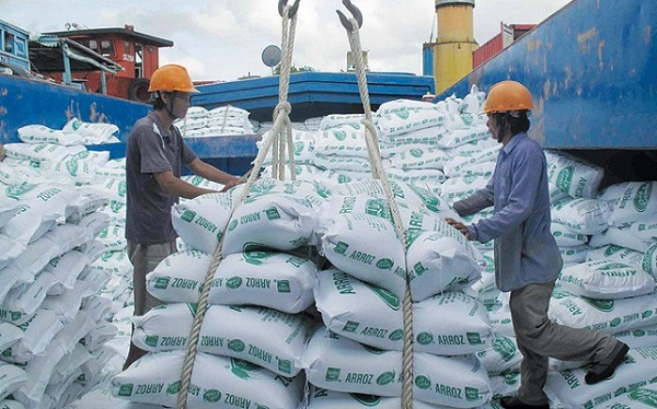 Xuất khẩu gạo Việt Nam tăng hơn 10% về trị giá trong 8 tháng (Ảnh minh họa)