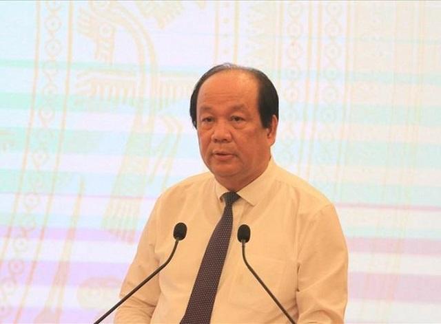 Bộ trưởng, Chủ nhiệm Văn phòng Chính phủ Mai Tiến Dũng chủ trì buổi họp báo thường kỳ Chính phủ tháng 8/2020