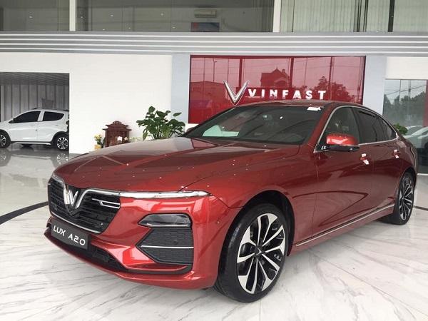 Vinfast áp dụng mức ưu đãi 50-150 triệu đồng cho xe Lux A2.0 và Lux SA2.0