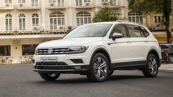 Mẫu SUV 7 chỗ ngồi Volkswagen Tiguan Allspace sẽ nhận được khoản hỗ trợ lệ phí trước bạ trị giá 120 triệu đồng