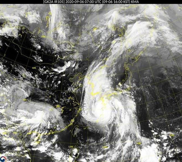 Hàn Quốc: Nâng cảnh báo lên mức cao nhất đề phòng bão Haishen