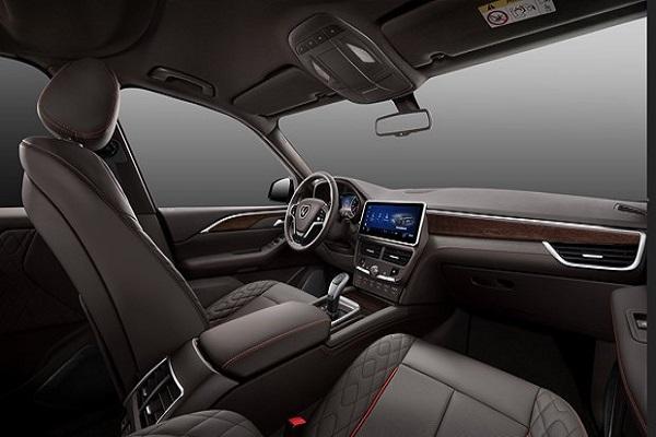 Nội thất của xe khá sang trọng với nhiều tiện ích. Mẫu xe President này như một bản nâng cấp hoàn hảo của Lux SA 2.0.(Ảnh nguồn: VinFast)