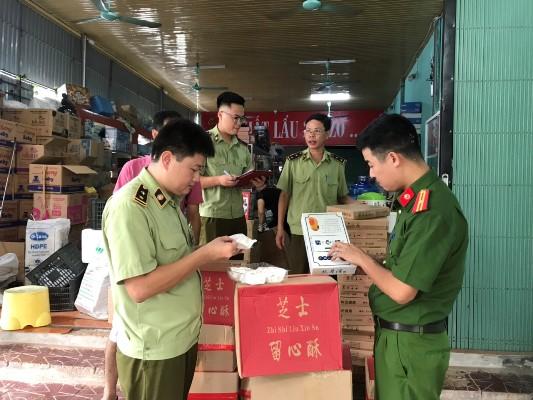 Lực lượng QLTT tỉnh Vĩnh Phúc tăng cường kiểm tra, kiểm soát hàng hóa nhằm phát hiện và ngăn chặn hàng hóa, ấn phẩm có thông tin, hình ảnh về