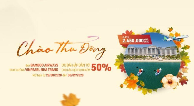 Các combo bay – nghỉ dưỡng lâu nay luôn là sản phẩm nổi bật của Bamboo Airways