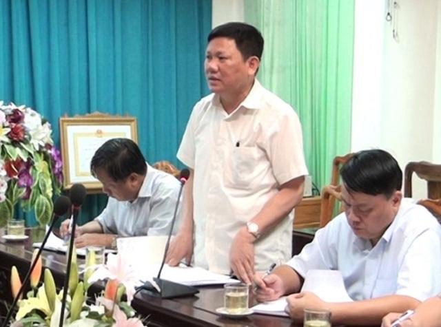ông Nguyễn Văn Thi, Ủy viên Ban Thường vụ Tỉnh ủy, Phó Chủ tịch UBND tỉnh  Thanh Hóa làm Tổ trưởng  tổ công tác