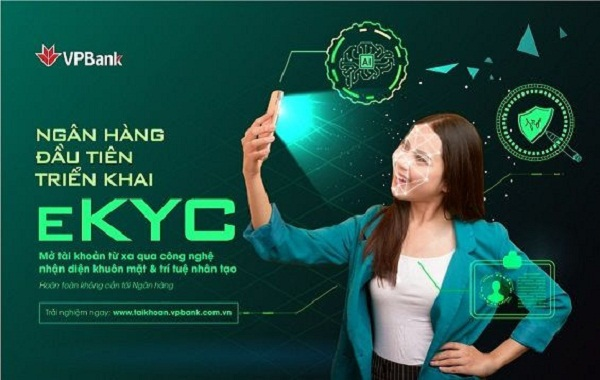 VPBank là ngân hàng đầu tiên tại Việt Nam cho phép khách hàng mở tài khoản thanh toán 100% online