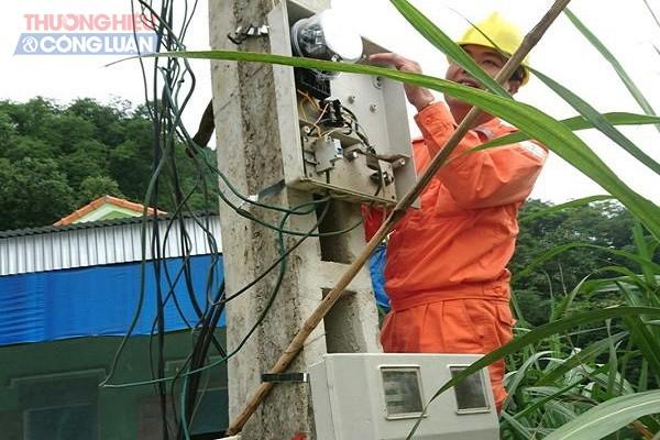 Hiện trường vi phạm trộm cắp điện tại xã Thọ Hợp, huyện Qùy Hợp